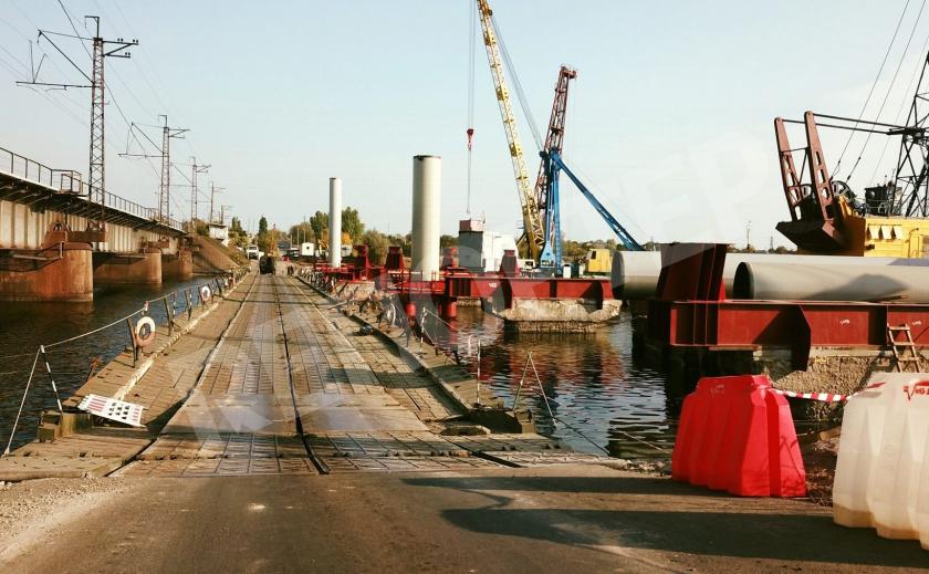 На Днепропетровщине таки начали реальную реконструкцию майского моста