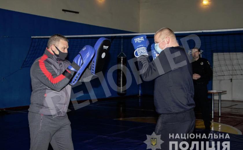 Никопольские полицейские получили новый спортзал