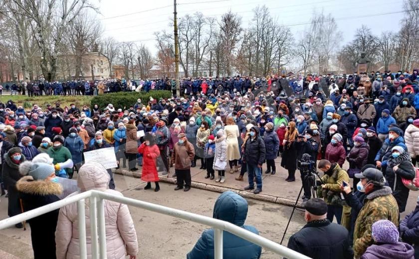 Марганецкую активистку оштрафовали на 35 000 грн за митинг