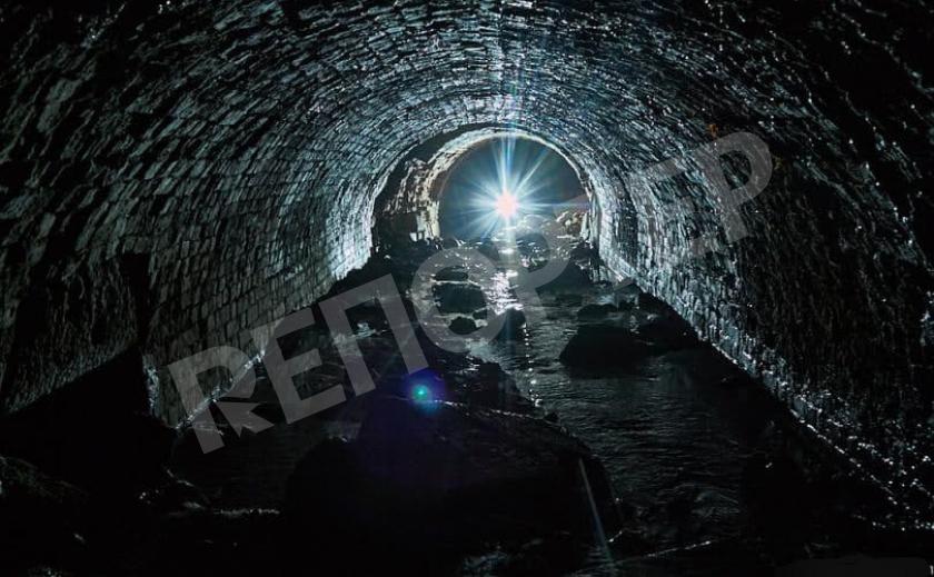 В Марганце обнаружили таинственное подземелье