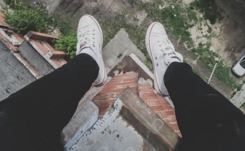 Никопольская «заброшка» стала местом развлечений местной молодежи