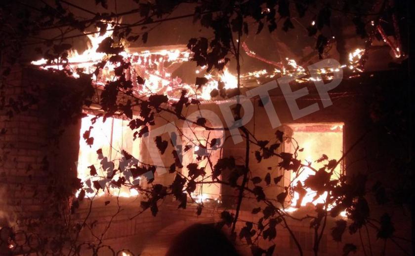 Житель Никопольского района погиб в огне